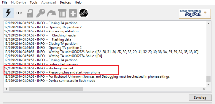 Sony Flashtool